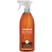 Method® Daily Wood Cleaner Almond, 28oz Bottle 1/Case - MTH01182