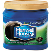 Maxwell House® Original Roast Coffee, Decaffeinated, 33 oz. Can