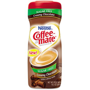 Coffee-mate® Sugar Free Creamy Chocolate Flavor Powdered Creamer, 10.2 oz