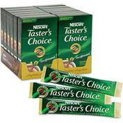 Taster's Choice Coffee Stick Pack, Decaffeinated, 0.1 oz., 60/Carton