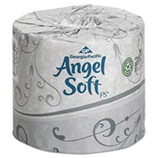 Angel Soft ps Premium Bathroom Tissue, 450 Sheets/Roll, 20 Rolls/Carton - GEP16620