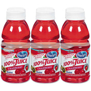 Ocean Spray 100% Juice, Cranberry, No Sugar Added, 10 Oz, 6/Pack