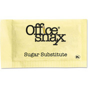 Office Snax® NutraSweet Yellow Sweetener, 2000 Packets/Carton
