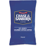 Chase & Sanborn Coffee, Regular, 1.25 oz. Packets, 42/Box