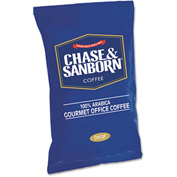 Chase & Sanborn Coffee, Decaffeinated, 1.25 oz. Packets, 42/Box