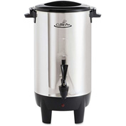 Coffee Pro CP30 Percolating Urn, 30 Cup, Stainless Steel, 110V