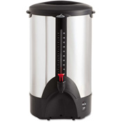 Coffee Pro CP50-Percolating Urn, 50-Cup,  Stainless Steel, 120V