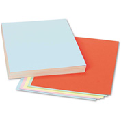 "Pacon® Assorted Colors Tagboard, 12"" x 9"", Blue/Canary/Green/Orange/Pink, 100/Pack"