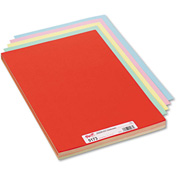 "Pacon® Assorted Colors Tagboard, 18"" x 12"", Blue/Canary/Green/Orange/Pink, 100/Pack"