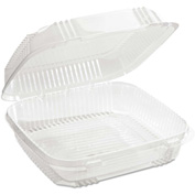 "Microwavable Container Combo 8-1/5"" x 8-3/8"" x 2-7/8"" 49 Oz - 200 Pack"