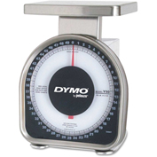 "DYMO® by Pelouze® Heavy-Duty Mechanical Package Scale, 50lb Capacity, 6"" x 4-3/4"" Platform"
