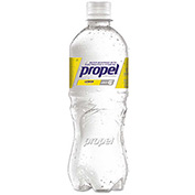 Propel Fitness Water™ Flavored Water, Lemon, 16.9 Oz, 24/Carton