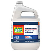 Comet® Disinfecting Cleaner w/Bleach Unscented, Gallon Bottle 1/Case - PGC02291
