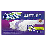 "Swiffer® WetJet System Refill Cloths 14"" x 3"", 24 Cloths/Box 4/Case - PGC08443CT"