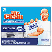 Mr. Clean® Magic Eraser Kitchen Scrubber, 2 Pads/Box 24 Boxes/Case - PGC47546CT
