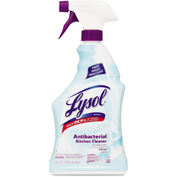 LYSOL® Antibacterial Kitchen Cleaner Lemon, 22oz Trigger Bottle 12/Case - RAC00888CT