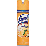 LYSOL® Disinfectant Spray Citrus Meadow, 19oz Aerosol 12/Case - RAC81546CT