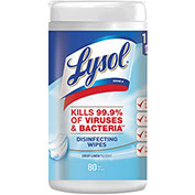 LYSOL® Disinfecting Wipes Crisp Linen, 80 Wipes/Can 6/Case - RAC89346CT