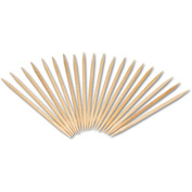 "Royal Round Wood Toothpicks, 2 3/4"", Natural"