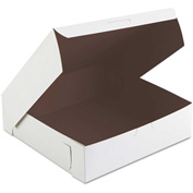 "Bakery Boxes 9"" x 9"" x 2-1/2"" White - 250 Pack"