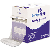 "Sealed Air Bubble Wrap® Cushion Bubble Roll, 12"" x 65', 1/2"" Thick"