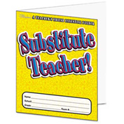 Scholastic Substitute Teacher Essential Laminated Folder, PreK-6, 16 Pages