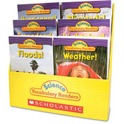 Scholastic Science Vocabulary Readers: Wild Weather, 36 books/Six Titles and Teaching Guide