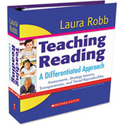 Scholastic Teaching Reading: A Differentiated Approach, Binder, Grades 4 and Up, 504 Pages