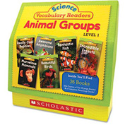 Scholastic Science Vocabulary Readers: Animal Groups, 26 books/16 pages and Teaching Guide