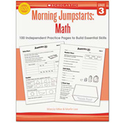 Scholastic Morning Jumpstart Series Book, Math, Grade 3