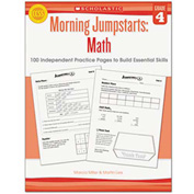 Scholastic Morning Jumpstart Series Book, Math, Grade 4
