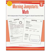Scholastic Morning Jumpstart Series Book, Math, Grade 5