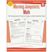Scholastic Morning Jumpstart Series Book, Math, Grade 6