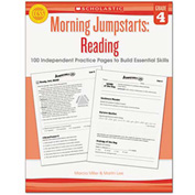 Scholastic Morning Jumpstart Series Book, Reading, Grade 4