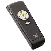 SMK-Link Electronics Wireless Presenter w/ Laser Pointer, Class 2, Black/Silver