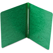 Smead® Side Opening PressGuard Report Cover, Prong Fastener, Letter, Green