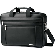 Samsonite® Classic Perfect Fit Laptop Case, 16.5 x 4.5 x 12, Nylon, Black