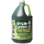simple green® Clean Building All-Purpose Cleaner Concentrate, Gallon Bottle 2/Case - SMP11001CT