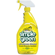 simple green® Original All-Purpose Cleaner Lemon, 24oz, Bottle, 12/Case - SMP14002