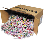 Dum Dum Pops, Assorted Flavors, Individually Wrapped, Bulk 30 Lb. Carton