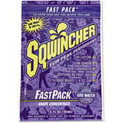 Sqwincher® 015302-GR - Fast Pack Drink Package, Grape, .6 Oz. Packet