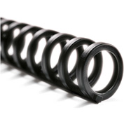 "Swingline™ GBC® ProClick Easy Edit Spines, 1/2"" Diameter, 85 Sheet Capacity, Black, 25/Pk"