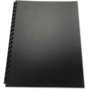 Swingline™ GBC® 100% Recycled Poly Binding Cover, 11 x 8-1/2, Black, 25/Pack
