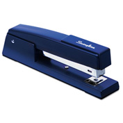 Swingline® Classic 747 Full Strip Stapler, 20-Sheet Capacity, Royal Blue