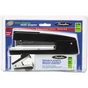 Swingline 747 Classic Stapler Value Pack w/Staples and Remover, 20-Sheet Capacity, Black