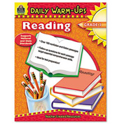 Teacher Created Resources Daily Warm-Ups: Reading, Grade 3, Paperback, 176 Pages