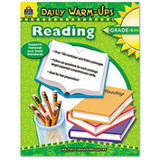 Teacher Created Resources Daily Warm-Ups: Reading, Grade 4, Paperback, 176 Pages