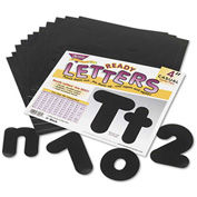 "Trend® Ready Letters Casual Combo Set, Black, 4""H, 182/Set"
