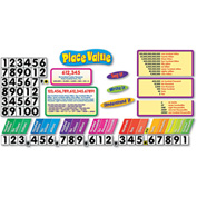TREND® Place Value Bulletin Board Set