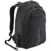 Targus® Spruce EcoSmart Backpack, 13 x 8 1/4, x 18 3/4, Black